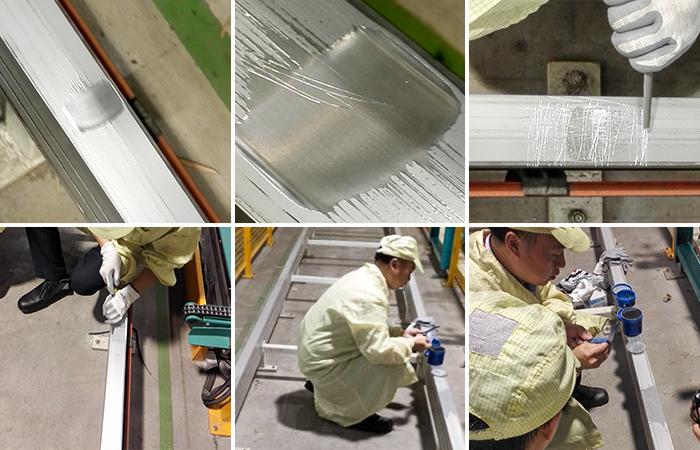 金属钢质轨道修补剂